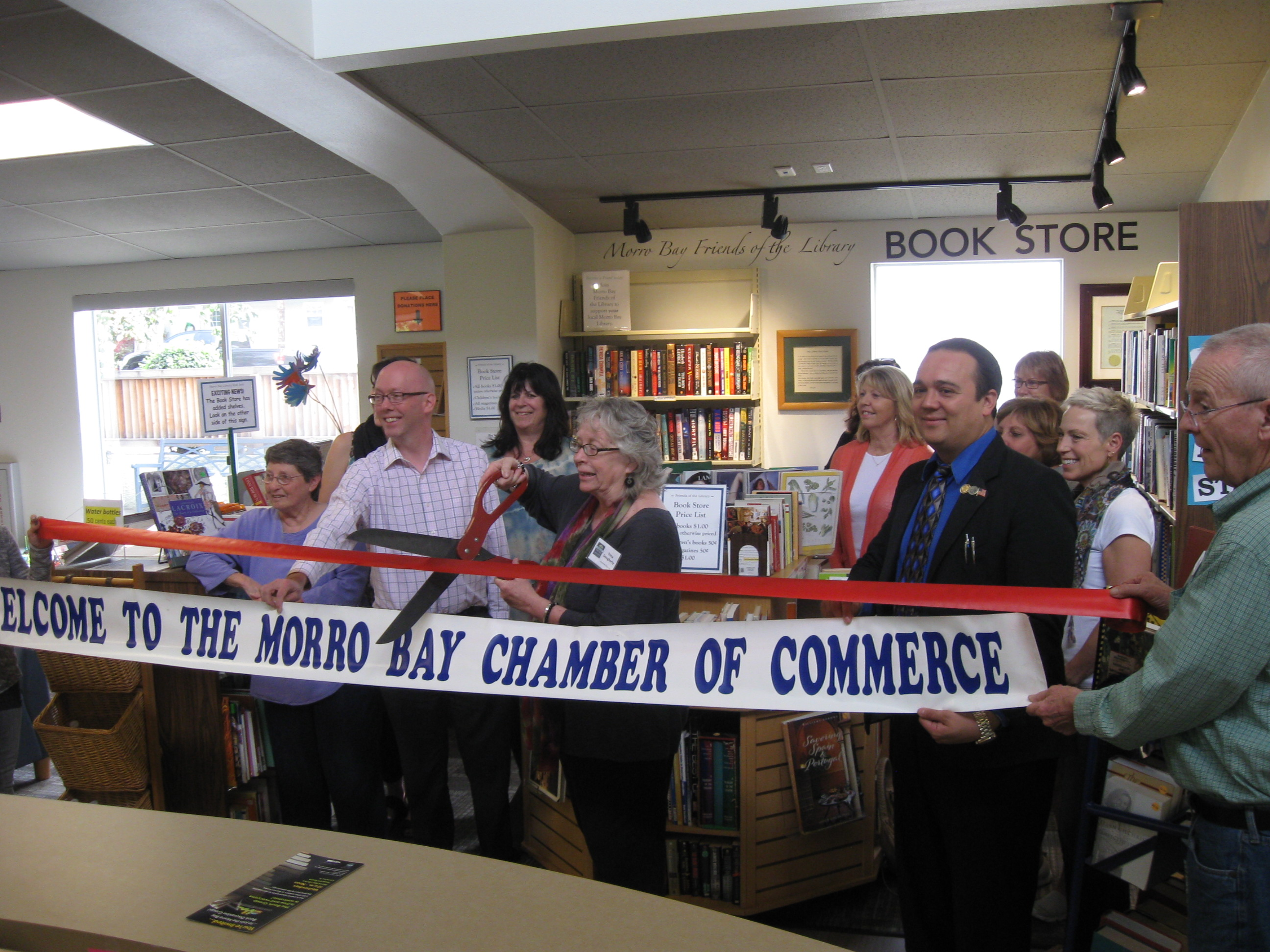 2016 bookstore ribbon cutting